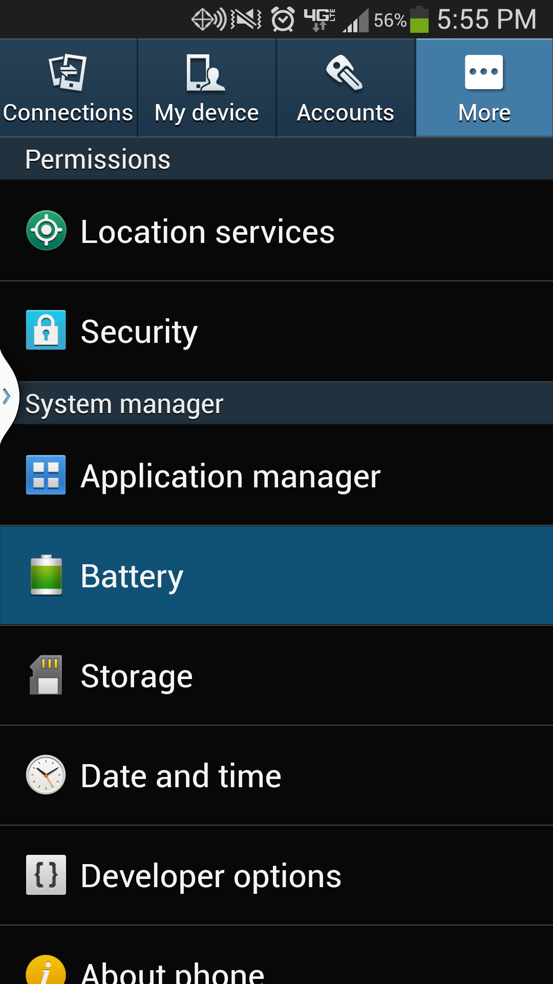 six ways to maximize the battery life on your samsung galaxy s