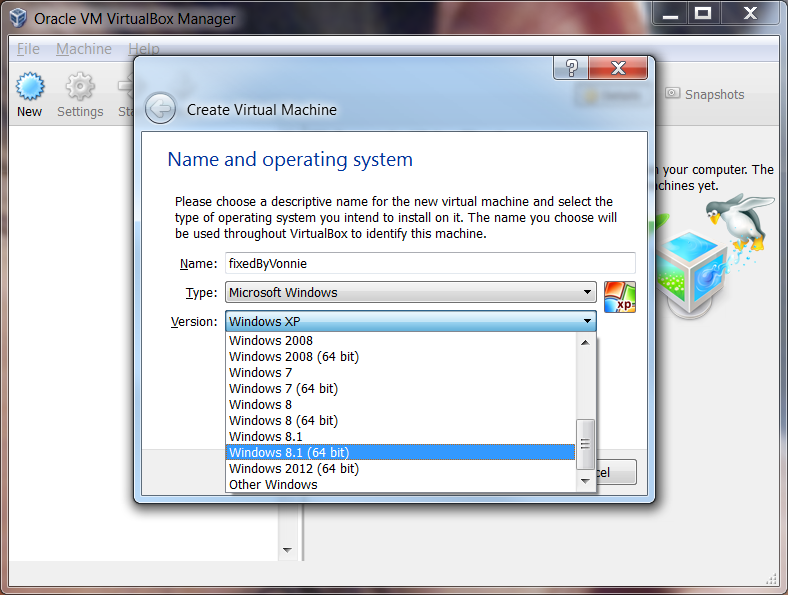 Virtualbox Para Windows Xp 32 Bits