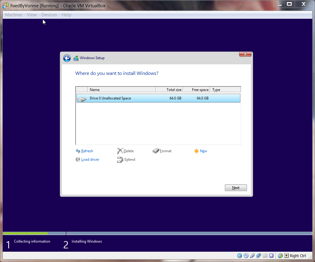 Windows 8.1 set install location
