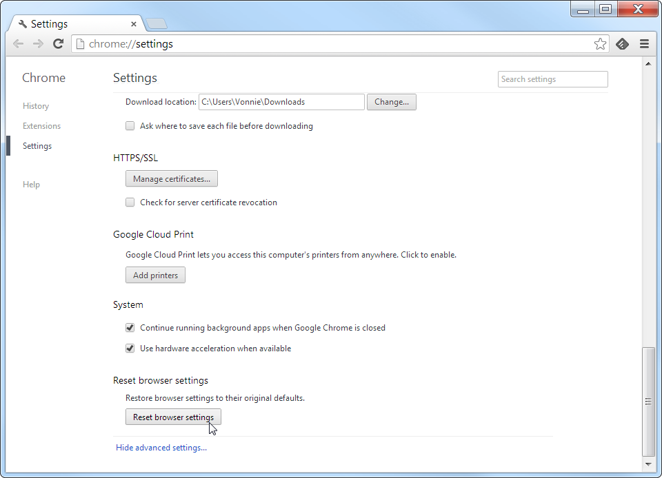 Chrome version 29 is here - fixedByVonnie