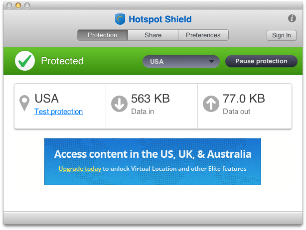 Hotspot Shield Mac