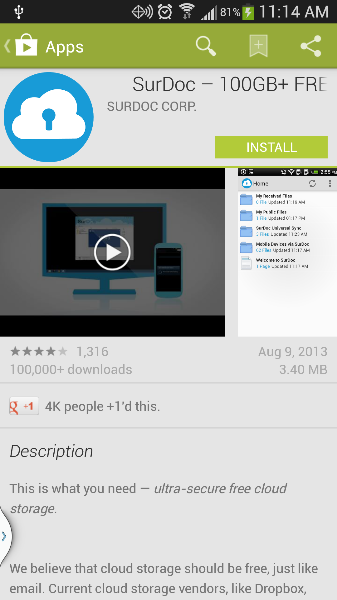 Download SurDoc for your Galaxy S4