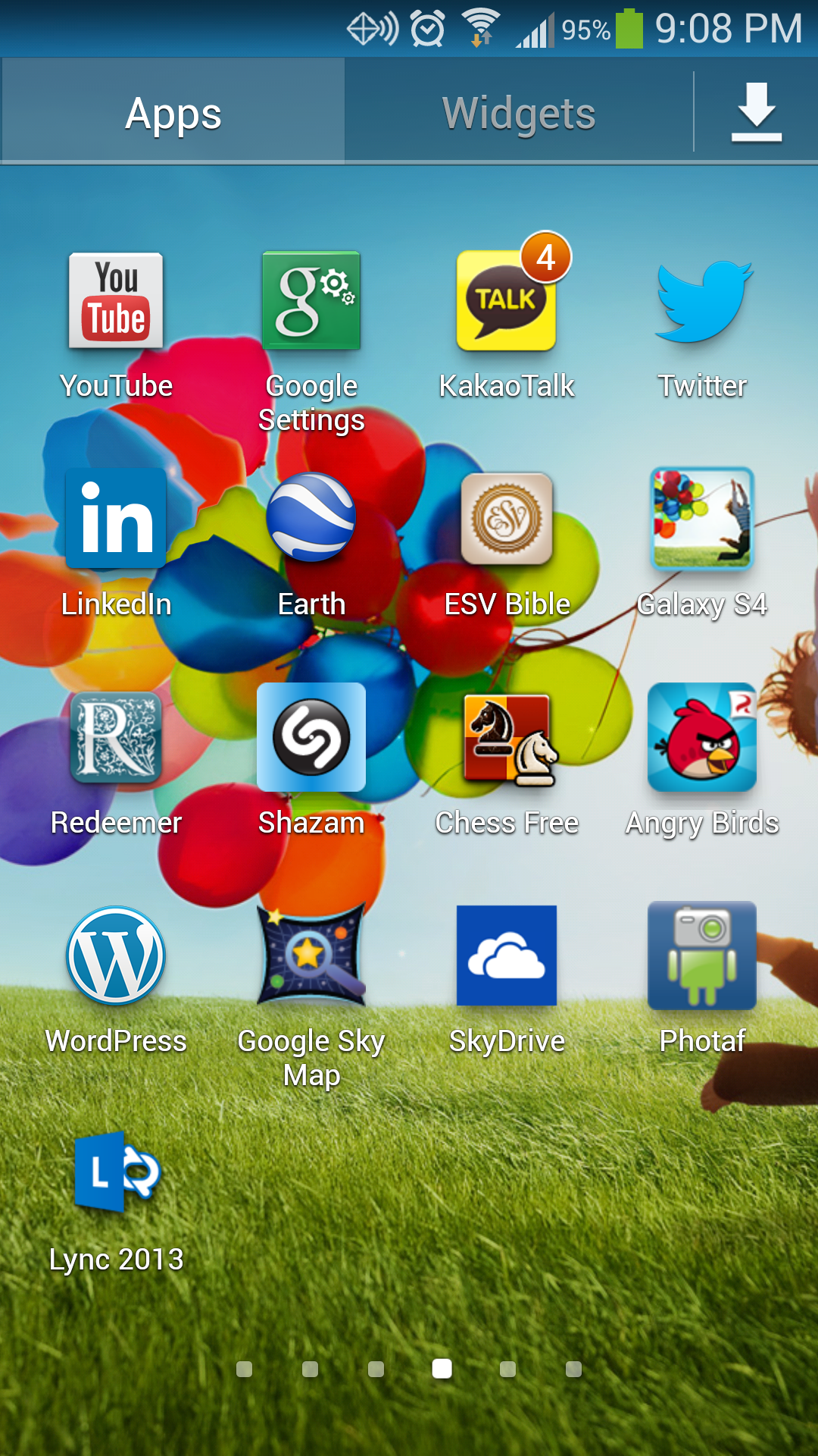 Galaxy S4 View Apps