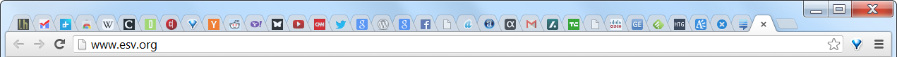 Chrome 36 simultaneous tabs