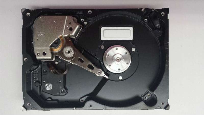 1 TB Seagate Harddrive platters removed