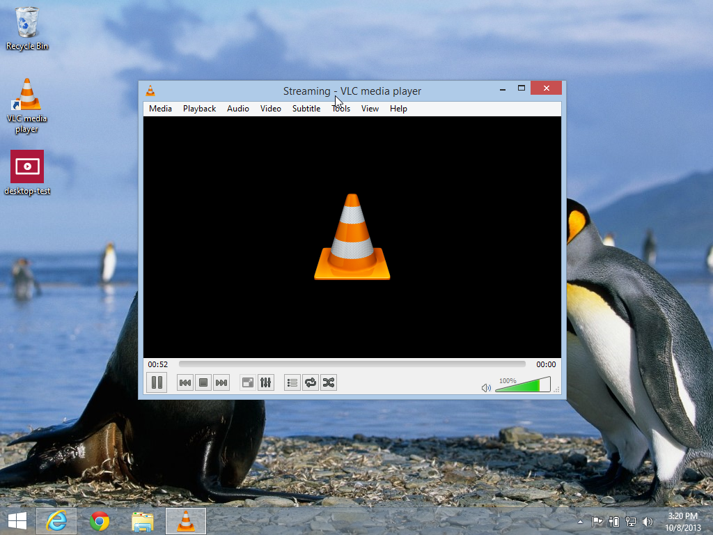 VLC Recording the Desktop