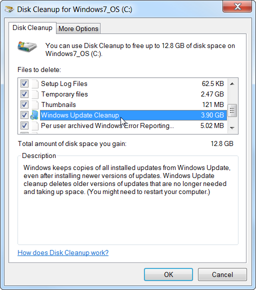 Windows 10 cleanup winsxs