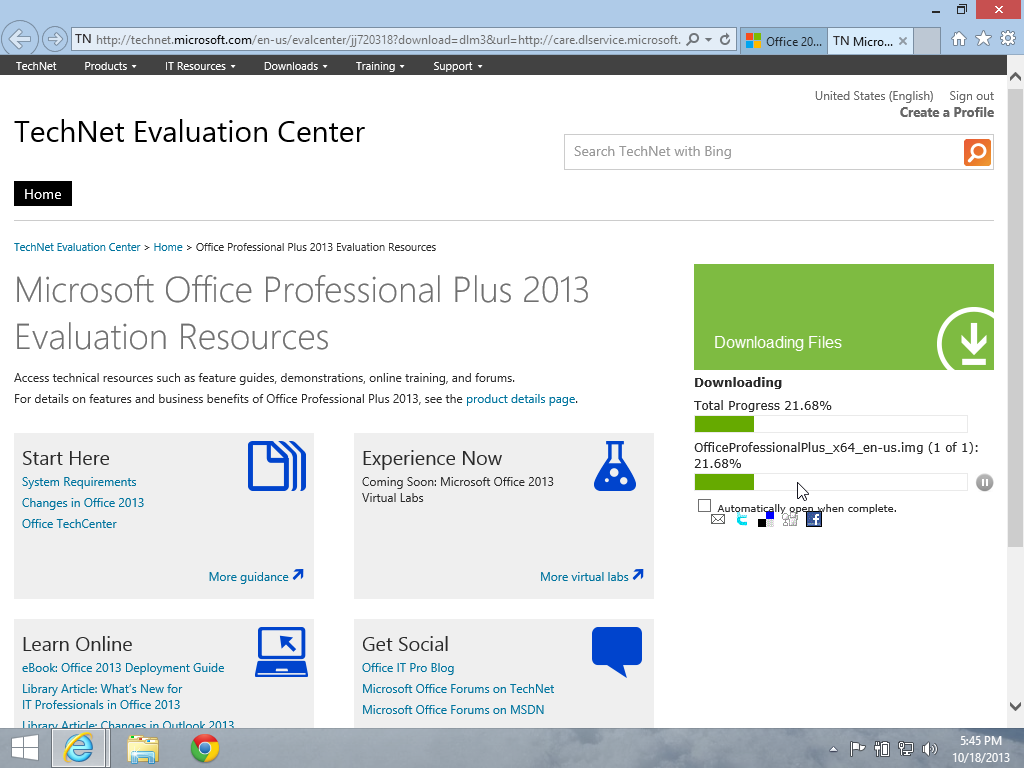 downloading the officeprofessionalplus_x64_en usimg file