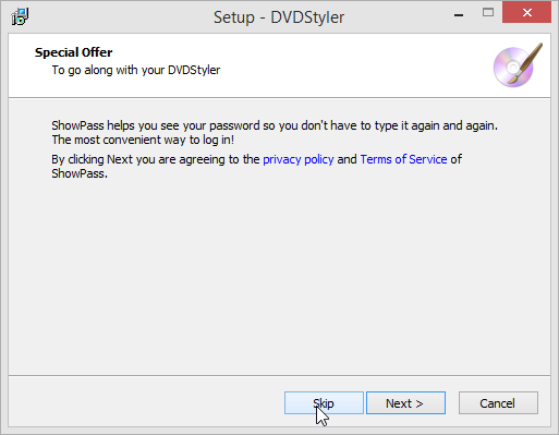 DVDStyler Special Offer