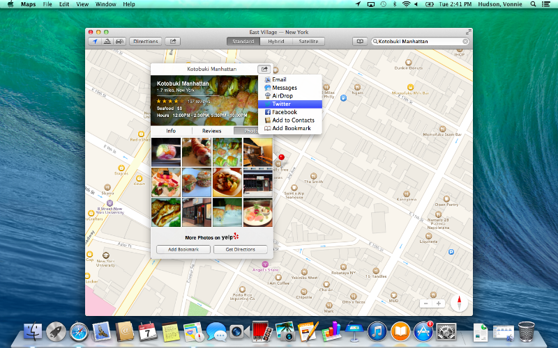 Mavericks Maps Pictures