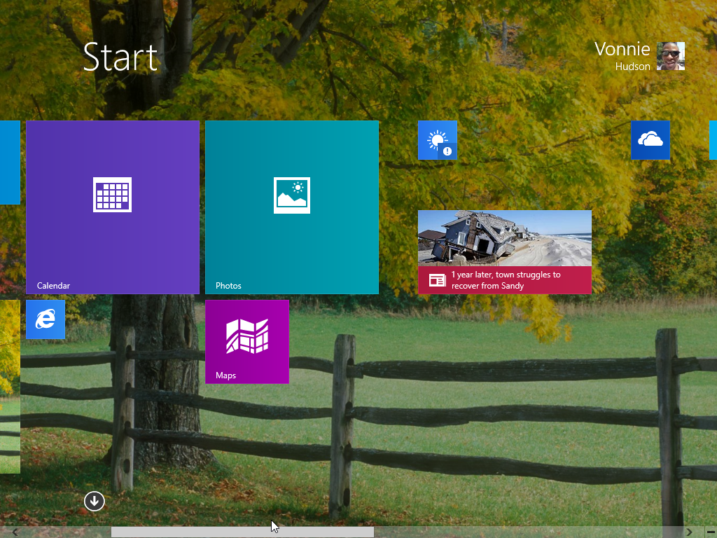 Windows 8.1 Start Screen Messy