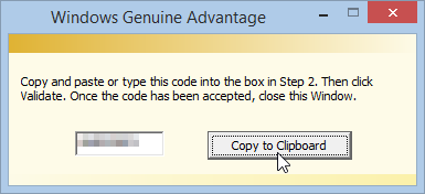 Windows 8.1 Genuine Advantage Code