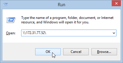Connect to remote computer in Windows 8.1