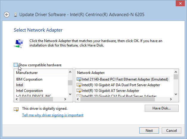 driver updates windows 8