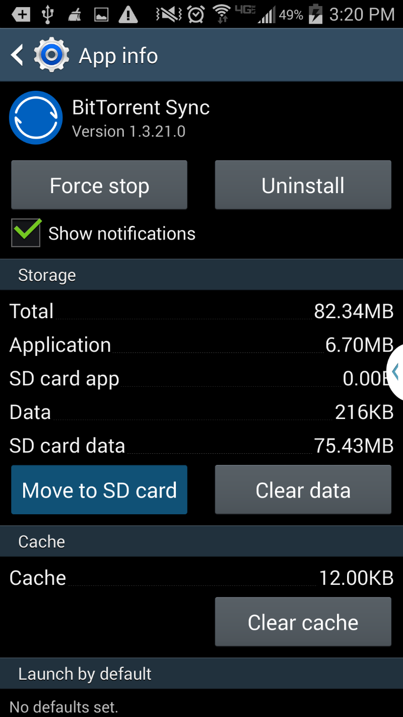 android save apps to sd card by default strong will