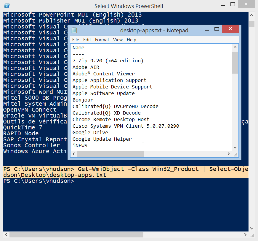 How to view all your installed programs with one mighty PowerShell