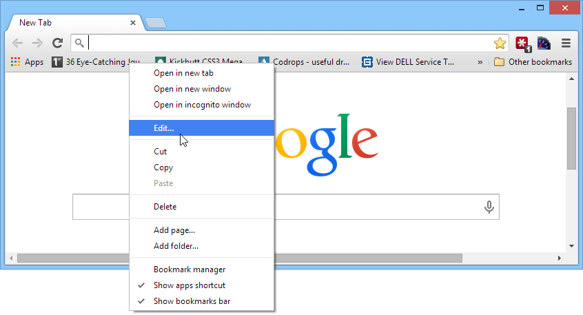 3 ways to organize the bookmark bar in Chrome - fixedByVonnie