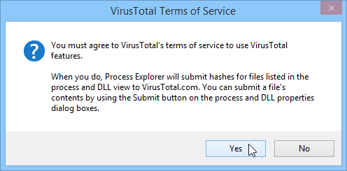 VirusTotal Terms of Service