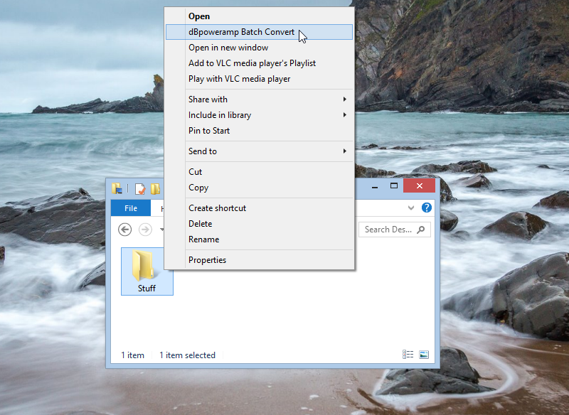 Windows 8.1 context menu filled with useless applications
