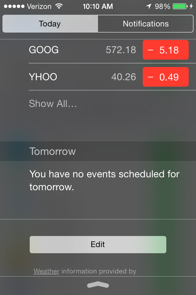 Disable notifications and widgets in iOS8