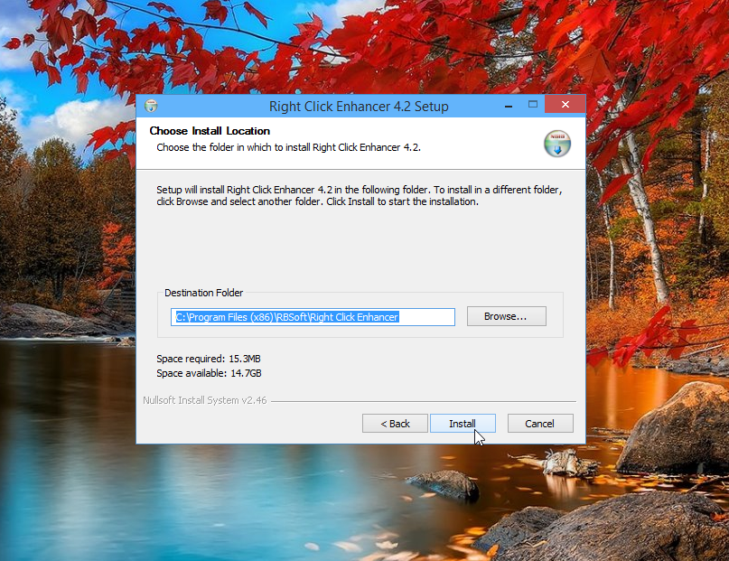 Installing Right Click Enhancer