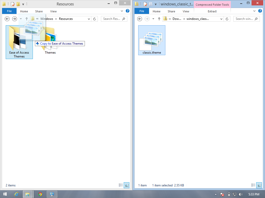How to make Windows 8 1 look like Windows XP - fixedByVonnie