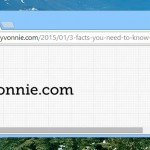 Why is your name in the upper right corner of the Google Chrome title bar?