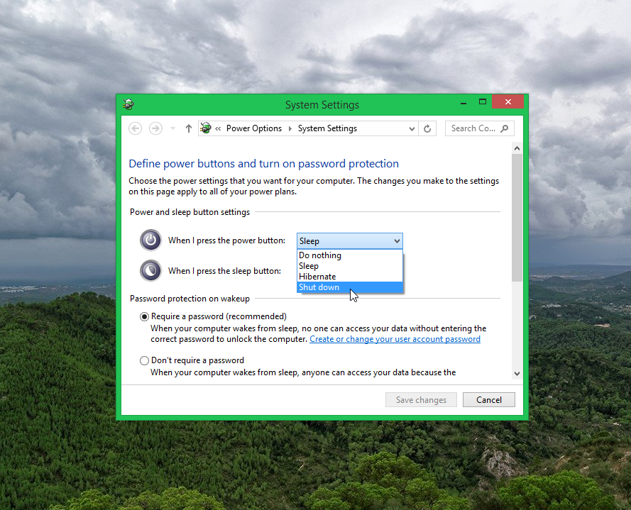 Windows 8.1 System Settings