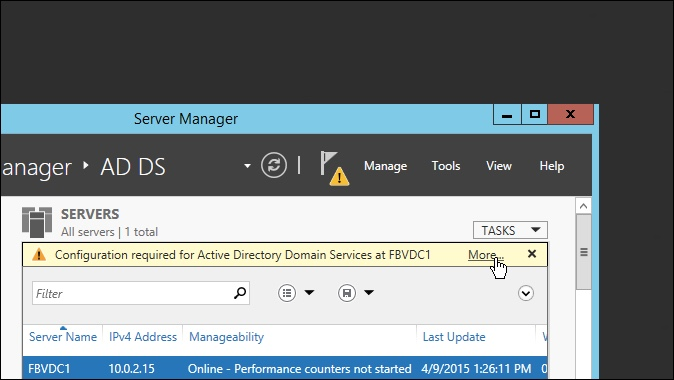 Active Directory Domain Services More
