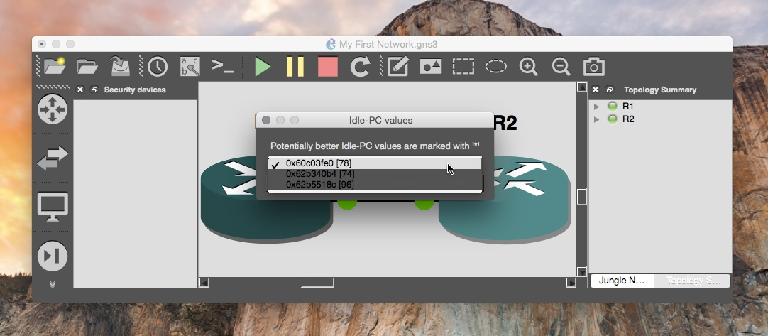 Installing GNS3 in Mac OS X Yosemite - fixedByVonnie