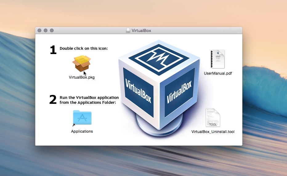 Installing VirtualBox on Mac