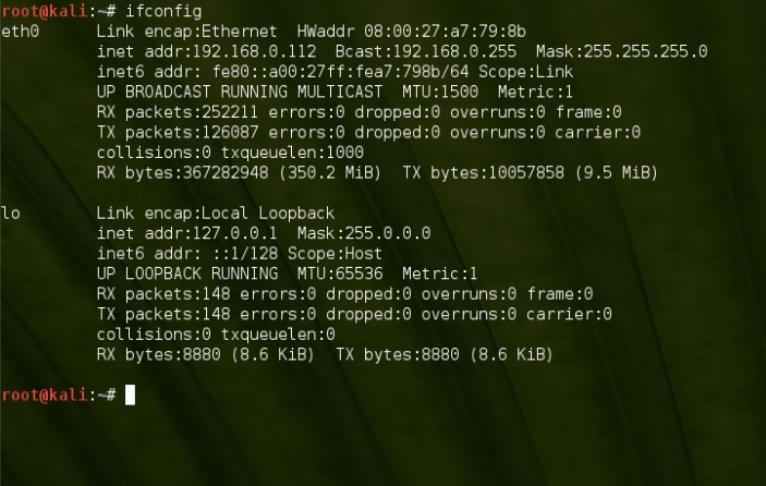 how to change name of ethernet card permanently linux terminal
