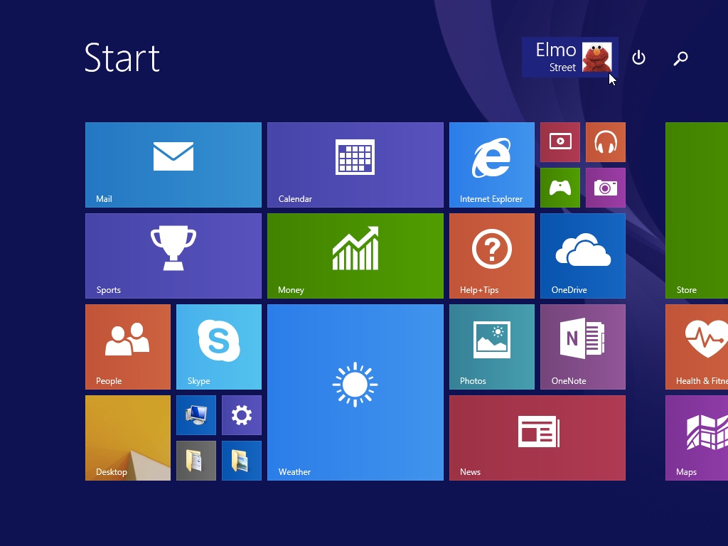 Windows 8.1 Logged in