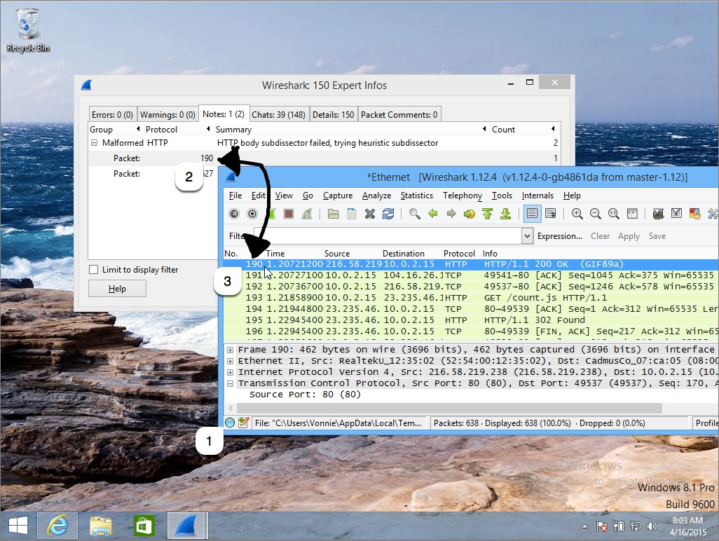 Wireshark Experts View Details