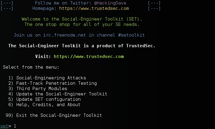 Using the Social Engineering Toolkit In Kali Linux | Learn